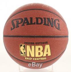 Magic Johnson & Larry Bird Basket-ball Avec Logo De La Nba Signé, Coa De Psa