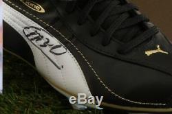 Marco Van Basten Signé Football Boot Présentoir Pays-bas Pays-bas Autograph Coa