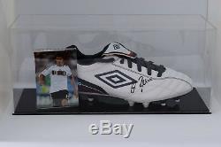 Michael Ballack Signé Autograph Football Boot Display Case Allemagne Aftal Coa