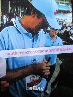 Michael Clarke Balles De Cricket Blanches Et Présentoirs Signés D'australie Signés Coa