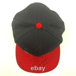 Michael Jordan Autographié Chicago Bulls Hat Avec Coa Et Vitrine