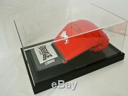 Michael Watson Signé Autograph Gant De Boxe Présentoir Sport & Proof Coa