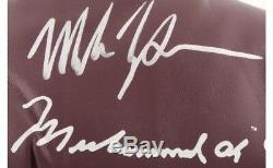 Mike Tyson A Signé Une Paire De (2) Gants De Boxe Everlast (psa Coa) Avec Étui De Protection