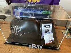 Mike Tyson Autographié Everlast Lh Gant De Boxe Psa / Adn Coa En Cas D'affichage