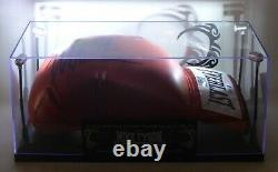Mike Tyson Signé Gant De Boxe Avec Led Lighted Display Case + Coa Par Beckett