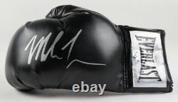 Mike Tyson Signé Gants De Boxe Noir Autographiés Avec Boîtier D'affichage Personnalisé + Coa