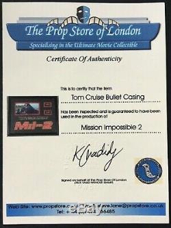 Mission Impossible 2 9 MM Bullet Carters De L'affichage Tom Cruise Gun Avec Coas