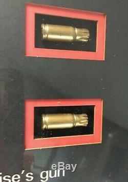 Mission Impossible 2 Boyaux 9 MM Bullet De L'affichage + Coas ' Tom Cruise Gun