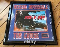 Mission Impossible 3 Bullet 9 MM Carters De L'affichage Tom Cruise Gun Avec Coa