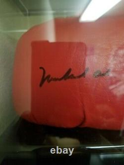 Muhammad Ali Autographié Signé Everlast Gant De Boxe Avec Coa & Display Case