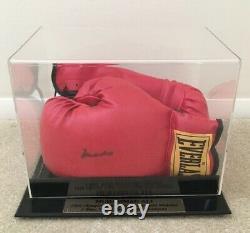 Muhammad Ali Signé Gant Withcoa En Cas D'affichage