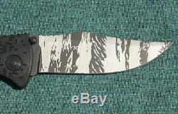 N ° 166 Sur 300 Sog 30e Anniversaire Tiger Stripe Trident Dossier Présentoir Coa