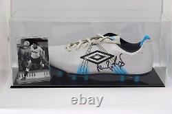 Neil Ruddock A Signé Autograph Football Boot Display Case Tottenham Hotspurs Coa