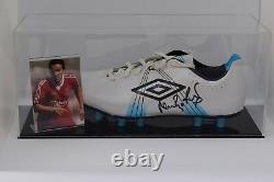 Neil Ruddock Signé Autograph Football Boot Display Case Liverpool Aftal Coa