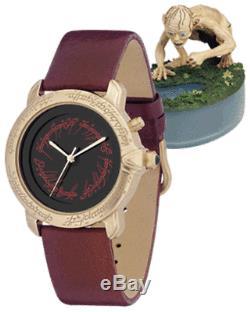 Nib Seigneur Des Anneaux Edition Limitée Gollum Fossil Watch Dans La Vitrine # 1188