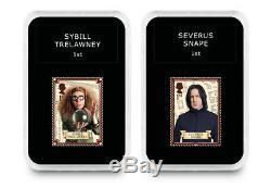 Nouveau Harry Potter Stamp Set In Deluxe Case Display Avec Coa Ltd Ed Seulement 2500