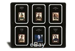 Nouveau Lot De Tampons Harry Potter Dans Une Vitrine De Luxe Avec Coa Ltd Ed Only 2500