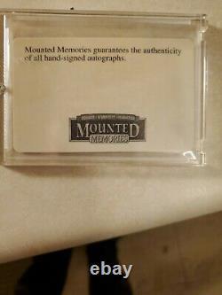 Peyton Manning Autographié Indianapolis Colts Mini Casque Avec Vitrine & Coa