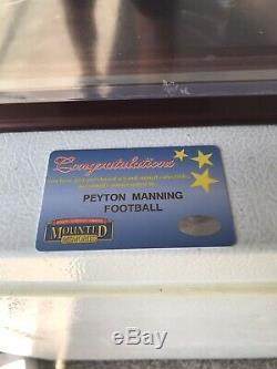 Peyton Manning, NFL Wilson Football Autographé Et Signé