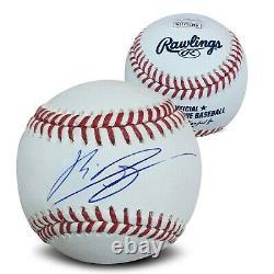 Rafael Devers Autographié Mlb Signé Baseball Jsa Coa Avec Boîtier D'affichage 1