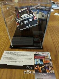 Rare Dale Earnhardt Jr Autographié Impala Ss Avec Vitrine Personnalisée Avec Coa J