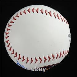 Rare Nolan Ryan A Signé Astros Oml Baseball With Display Case (psa Coa Graded 10)