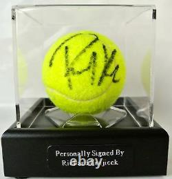 Richard Krajicek Signé Autograph Tennis Ball Luxury Display Case Sport & Coa