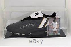 Ricky Villa Signé Autograph Football Boot Présentoir Tottenham Hotspurs Coa