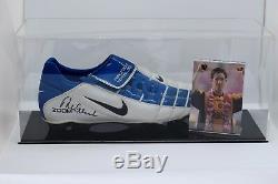 Robbie Fowler Signé Autograph Football Boot Display Case Liverpool Aftal Coa