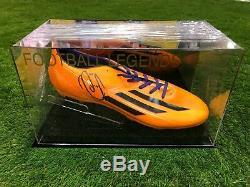 Robin Van Persie, Chaussure De Football, Vitrine Manchester United Holland Coa