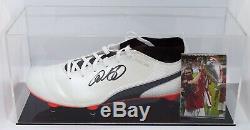 Ryan Giggs Signé Autograph Football Boot Display Case Man United Aftal Coa