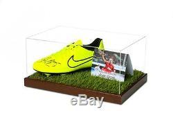 Ryan Giggs Signé Football Boot Display Case Man Utd Autograph Memorabilia Coa