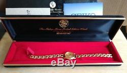 Seiko Mickey Mouse Le Nifty Nineties Edition Limitée Coa & Case D'affichage