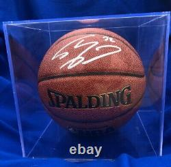 Shaq Shaquille O'neal Lakers Signé Autographié Basketball Coa & Display Case