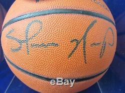 Signe Pont Withupper Coa Shawn Kemp Nba Wilson Basket Case Withdisplay Cube