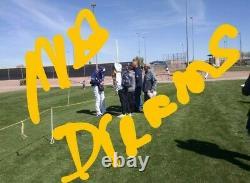 Signé Sd Padres Mackenzie Gore Mlb Baseball & Rc Card Display Case Proof Coa