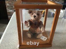 Steiff Danbury Mint Bear Grandad Mortimer Avec Cas De Coa Et De Display
