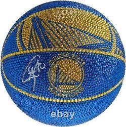 Stephen Curry Warriors De Basketball Affichage Fanatique Authentique Coa N ° 9895865