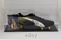 Stuart Mccall Signé Autograph Football Boot Display Case Bradford City Coa