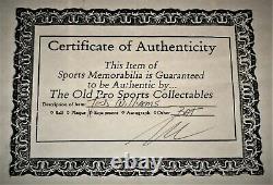 Ted Williams Autographié/signé Chauve-souris Dans Oak /plexiglas Display Case Avec Coa-nice