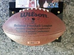 Terry Bradshaw Signed/autographed NFL Football Withdisplay Case And Coa