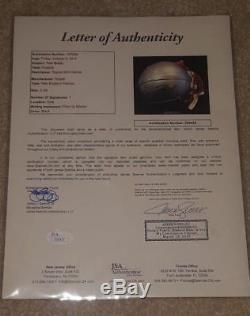 Tom Brady Casque Auto Mini Jsa Signé Loa Coa Autographié Avec Présentoir Rare