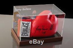 Tony Bellew Vitrine De Gant De Boxe Signée Autograph Memorabilia Coa
