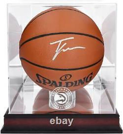 Trae Young Hawks Basketball Display Fanatique Authentic Coa Item#11397109