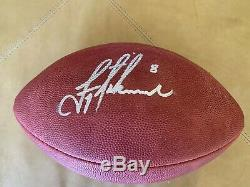 Troy Aikman Signe Officiel Sb XXVII Football Autographed Avec Coa & Case D'affichage