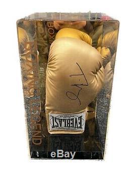 Tyson Fury Exclusive Signée À La Main Gant De Boxe Dans Un Affichage Cas Photo Preuve Coa