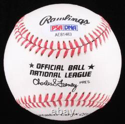 Willie Stargell Signed Baseball W Vitrine De Haute Qualité (psa Coa) Décédé 2001