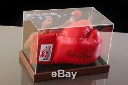 Wladimir Klitschko Signé Gant De Boxe Présentoir Autograph Memorabilia Coa