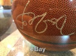 Yao Ming Basketball Signe Autograph Houston Rockets Nba Avec Coa & Case D'affichage
